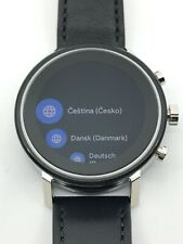 Movado Connect 2.0 Men's Watch Black Leather Band 3660028