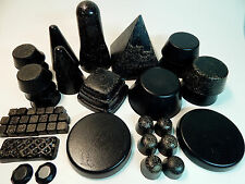 Orgone Home Grid 47Pc Black Sun Pyramid Tower Busters Quartz Crystals