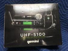 Gemini UHF-5100 1156 Channel UHF Wireless Systems Handheld