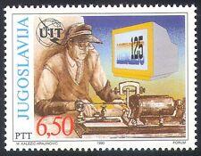 Yugoslavia 1990 ITU-UIT/Telecomms/Radio 1v (n27777)