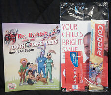 Colgate, Children's Toothbrush, Storybook & Sample Toothpaste, New!!!