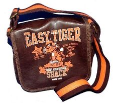 WITHIT Easy Tiger Across the Body Unisex Body Bag Antique Mocha Brown