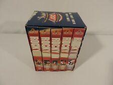 "VHS FILMS-""Rocky"" Commemorative 20th Anniversary Gift Set-Films 1-5 STALLONE"
