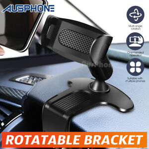 360° Universal Clamp Dashboard Mobile Car Smart Phone Holder Mount Stand Cradle