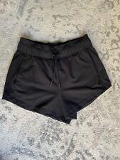 Lululemon Inner Glow Shorts *Terry Black, Size 4, VGUC