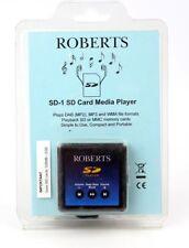 Roberts SD-1 Carte SD Media Lecteur MP3 ** NOUVEAU ** ** FREE UK P & P **