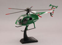 Model vehicles diecast New Ray Helicopter Nh 500 Body Forestry 1:3 2