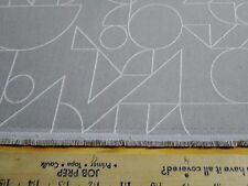 """I HAVE 15  YARDS X 57 """" APPLIED TEXTILES UPHOLSTERY FABRIC DESIGN TANGRAM SOLVE"""