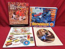 Lot of 4 Gun Related Catalogs, Brownells, Fajen, Western Scrounger