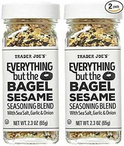 2 - Pack Trader Joe's Everything but The Bagel Sesame Seasoning Blend