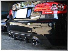 DP Style Carbon Fiber Rear Diffuser for 07-12 BMW E92 E93 M Tech Bumper Only