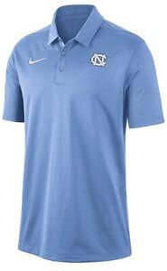New Nike NCAA North Carolina Drifit Football Polo Shirt Mens Large CD5941-448