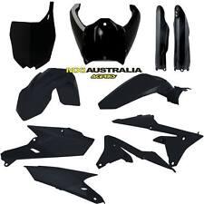 Acerbis Black Full Plastics Kit Yamaha YZF 250 450 2014-2017 YZ250F YZ450F