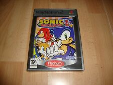 SONIC MEGA COLLECTION PLUS + DE SEGA PARA LA SONY PS2 NUEVO PRECINTADO