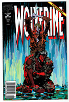 Wolverine #43 VF/NM Marvel Comics 1991 Silvestri Cover Nick Fury Appearance