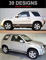Suzuki Vitara Swb Strisce Laterali Decalcomanie Adesivi Grafica Entrambi i Lati