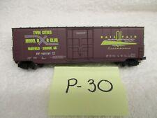 P-30 N Scale 1991 Railfare Sacramento, Ca Twin Cities Model Rr Club 50' Boxcar