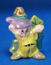 Dopey Ceramic Christmas Ornament Snow White & Seven Dwarfs Figurine Disney Parks