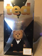 "Ted The Movie Limited Edition 24"" Talking Bear Rated R 12 Phrases Mint Box , NIB"