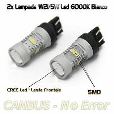 Lampade T20 Led Luce Posizione W21/5W Bianco 6000K Per Fiat 500 500C 2007-2014