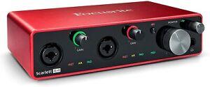 GENUINE Focusrite Scarlett 4i4 (3rd Gen) USB Audio Interface with Pro Tools