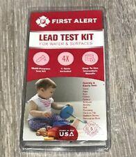 First Alert Lt1 Premium Lead Test Kit- Check Toys Paint Water Soil 029054000156