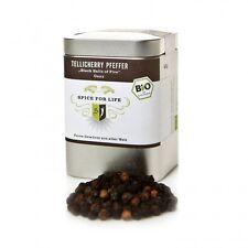 Spice for Life Bio Tellicherry Pfeffer  - ganz -  Dose 90 g