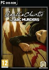 * PC NEW SEALED Game * AGATHA CHRISTIE The ABC MURDERS