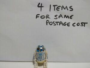 Vintage Star Wars GOOD SLIGHT WEAR R2-D2 Solid Dome Figure