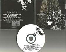 DIRTY VEGAS Ultra rare COLLEGE RADIO EP 6TRX w/ MIXES & EDIT PROMO DJ CD single