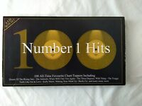 Compilation CD Album Boxset Pop, World - 100 Number 1 Hits  4 Discs (2001)