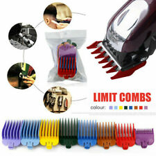 8 Pcs Universal Hair Clipper Limit Combs Guide Size Replacement Set Accessory US