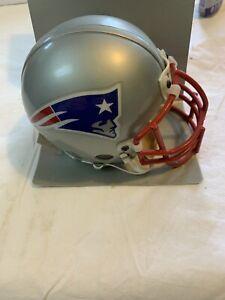 New England Patriots Team Riddell NFL Authentic  Mini Helmet Metal Mask