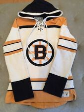 Old Time Hockey Women's NHL Boston Bruins Lacer Heavyweight Hoodie, M