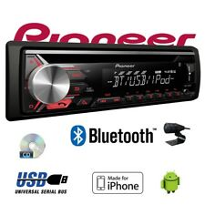 Pionero DEH-3900BT - Bluetooth CD MP3 USB Android - Iphone Autoradio Radio Coche