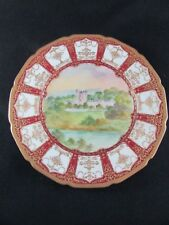 Royal Doulton Hand Painted & Gilded Cabinet Plate c.1922