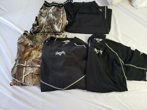 5 pieces Level One XL Scent Lok Base Layers Black/Camo
