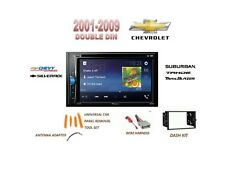 CHEVROLET EXPRESS TAHOE 01-09 Touchscreen Dvd Bluetooth Stereo Double Din Kit