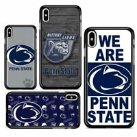Penn State Nittany Lions Hard Case Cover for iPhone 7 8 Plus X XR XS MAX