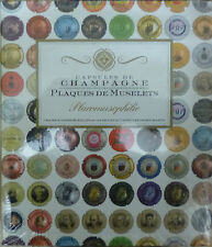 CHAMPAGNE CAP ALBUM with 5 PAGES of 42 Pockets holding 210 CHAMPAGNE CAPS
