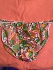 vintage joe boxer satin string bikini panties Size 10