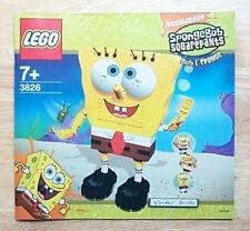 Lego 3826 INSTRUCTION BOOK: SpongeBob Build-A-Bob * BOOK ONLY, NO LEGO