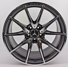 1x orig. Mercedes Benz AMG Felge 9,5 x 19 Zoll ET25 A2134012600 Neu Glanzgedreht