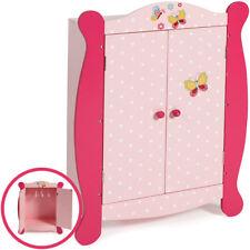 Bayer Chic 2000 Puppenschrank Papilio Pink (Rosa-Pink)