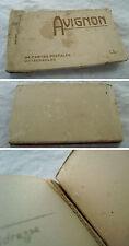 CARNET incomplet cartes postales AVIGNON ~1930 selecta