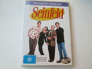 Seinfeld The Complete 5th Season DVD -R4 - Like New - Free Postage