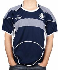 Mens Rugby Shirt Scotland Round Neck Half Sleeve Size Large