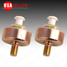 Engine Knock Detonation Sensor Pair for Chevy GMC Silverado Sierra Camaro Isuzu