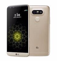 """Libre TELEFONO MOVIL 5.3"""" LG G5 H860N Dual SIM 32GB 3G/4G LTE 16MP GPS NFC - Oro"""