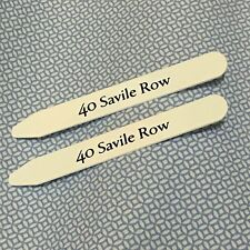 MENS SAVILE ROW PLASTIC FORMAL SHIRT COLLAR STIFFENERS ACCESSORIES GIFTS STAYS